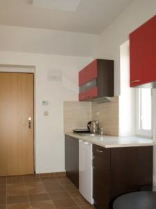 Apartmán 1: kuchyňka