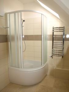 Apartmán 4: koupelna
