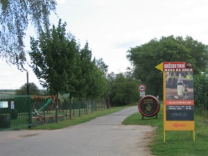 Cyklostezka podél rybníka Nesyt
