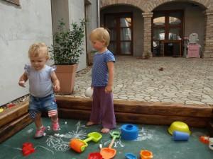 Dětský koutek u nás na dvoře